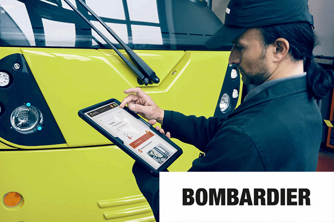 How Bombardier managed to save 40 working hours per vehicle.