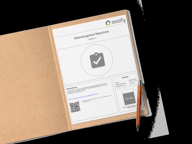 Feature Update – Individuell konfigurierbare Prüfberichte/Prüfprotokolle mit Testify.