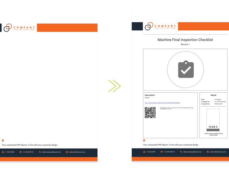 Feature Update – Configurable background images for PDF test reports.